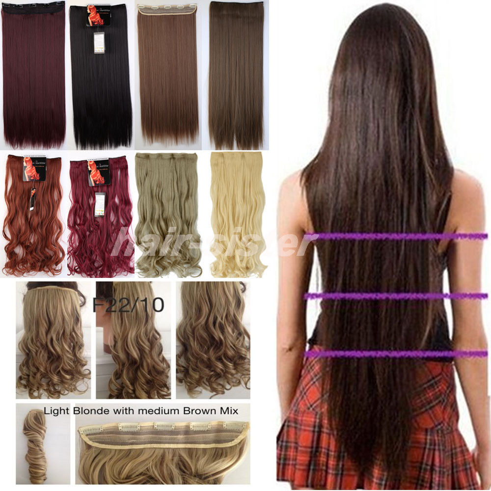 Thick Human Hair Extensions Ebay Remy Indian Hair
