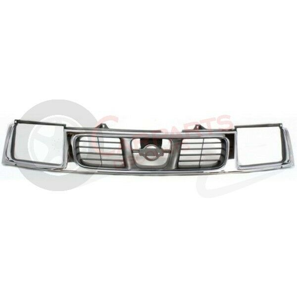 new 1998 2000 front grille for nissan frontier ni1200183