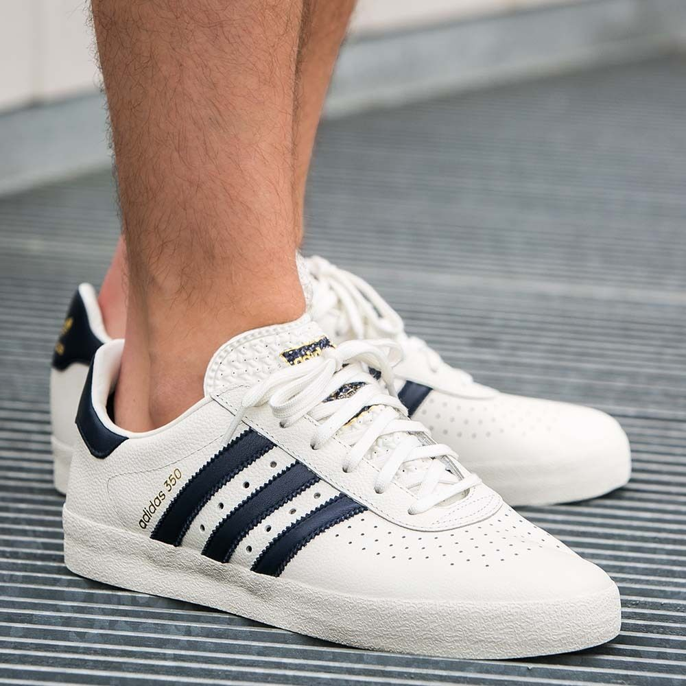 988704ef2 Details about Adidas Originals 350 Off White Navy S76214 (All Size) Trainers  not Spezial GT