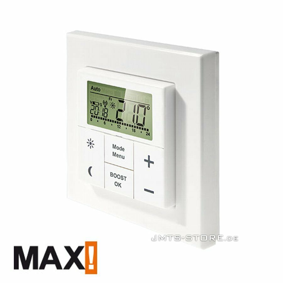 max wandthermostat f r heizk rperthermostat thermostat heizung haus regler cube ebay. Black Bedroom Furniture Sets. Home Design Ideas