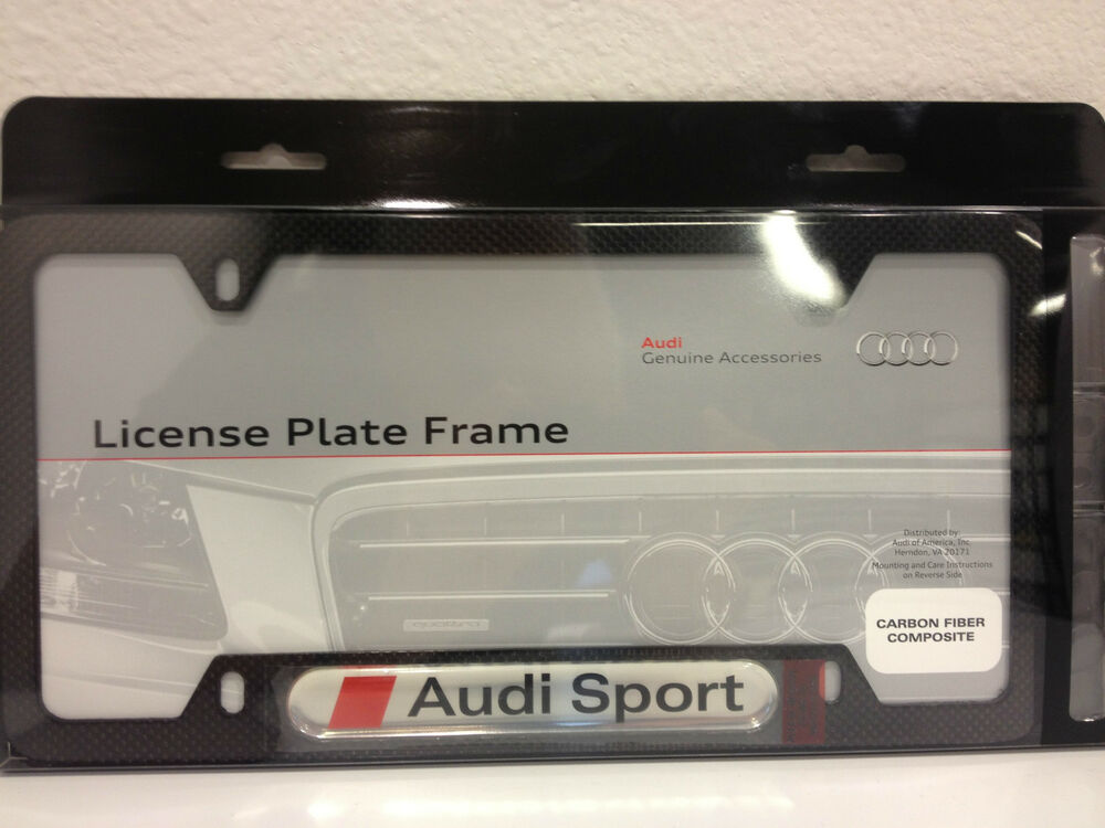 frame stunning product page file license be each plate with custom to authentic fiber is guaranteed hand malibu audi logo frames lisence carbon autobahn laid
