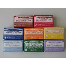 Dr. Bronner's Organic Natural Castile Bar Soaps ( PICK YOUR CHOICE OF SCENTS)