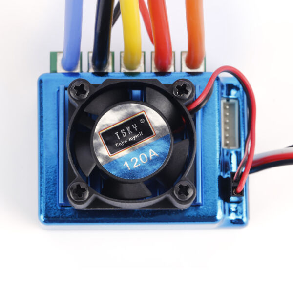 120A Sensored Brushless Speed Controller ESC for 1/8 1/10 1/12 RC Car US MX