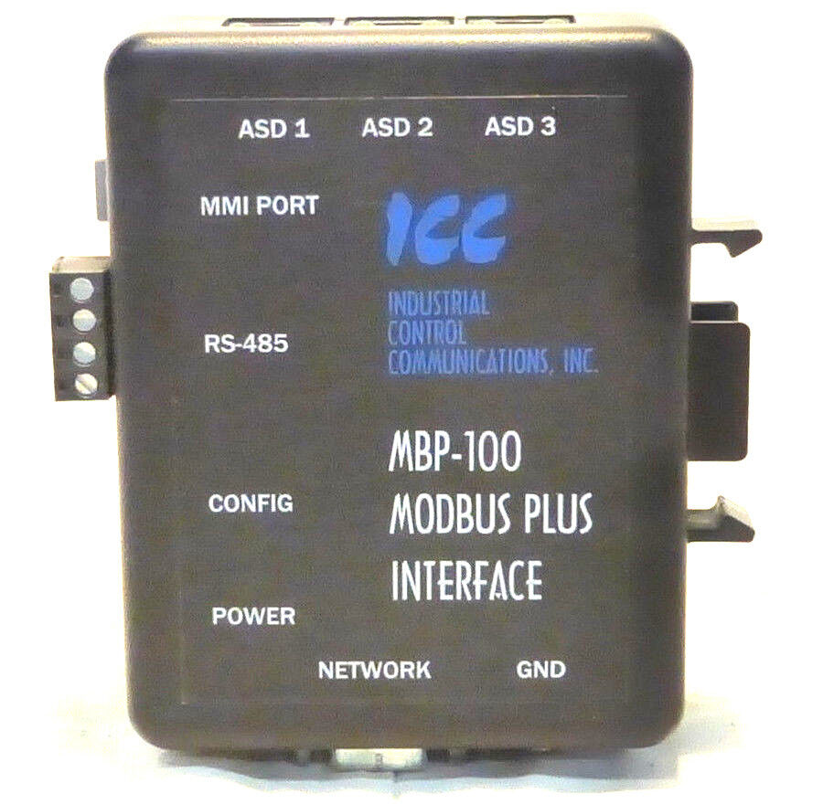 Icc Mbp 100 Modbus Plus Interface Industrial Control Communications Wiring 3k3 Ebay
