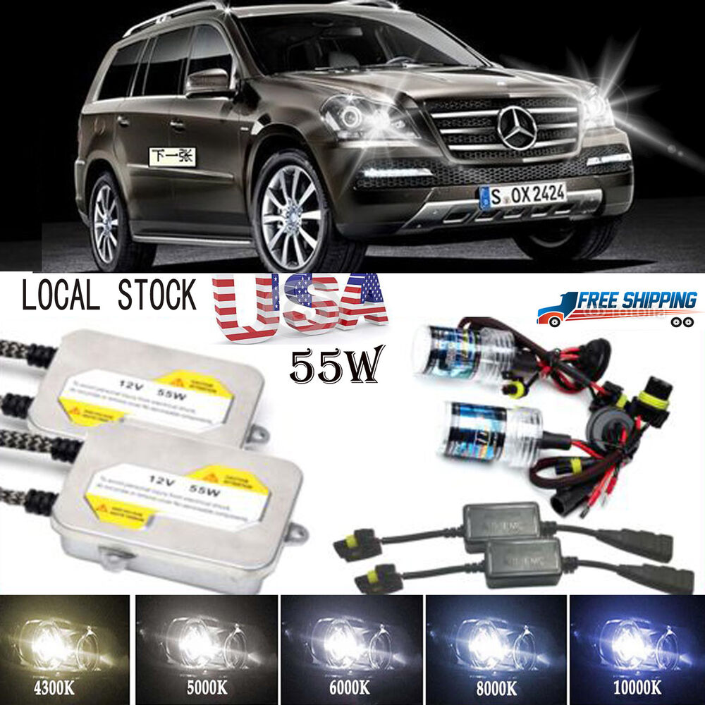 55w h7 canbus decoder hid xenon conversion kit for for Ebay used mercedes benz