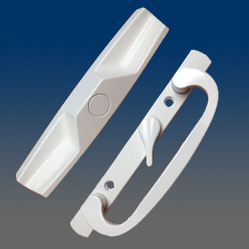 Sliding Glass Door Handle Set Pd1400white Offset Ebay