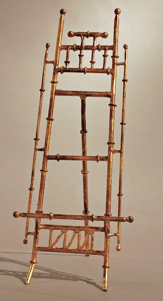 Exhibition Stand Vintage : Easel quot canton tabletop display stand picture