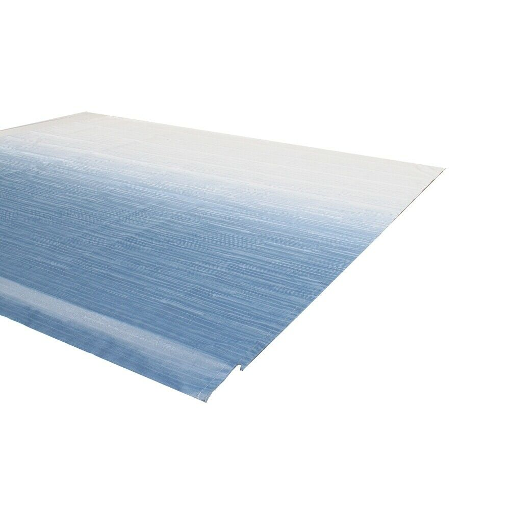 ALEKO Vinyl RV Awning Fabric Replacement 8X8 Ft Blue Fade