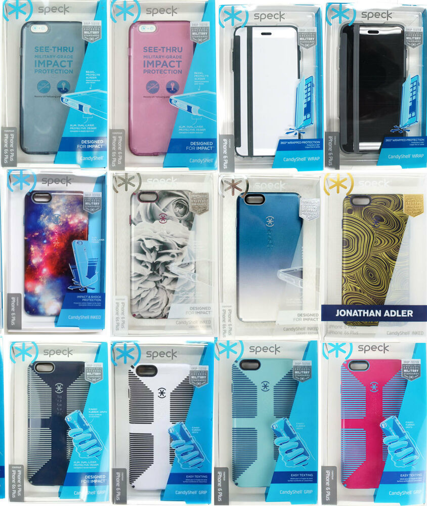 premium selection 1e67d 75547 Speck CandyShell Grip Inked Clear iPhone 6 Plus 6S Plus 5.5