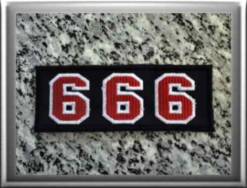 hells angels support 81 patch aufn her 666 p16 ebay. Black Bedroom Furniture Sets. Home Design Ideas