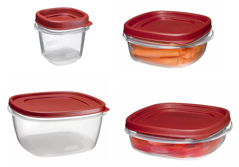 Rubbermaid Easy Find Lid Food Storage Containers 10 Sizes