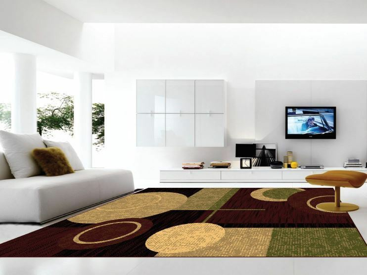 contemporary area rugs for living room size 5x7 and 8x10 rug clearance 1161 ebay. Black Bedroom Furniture Sets. Home Design Ideas