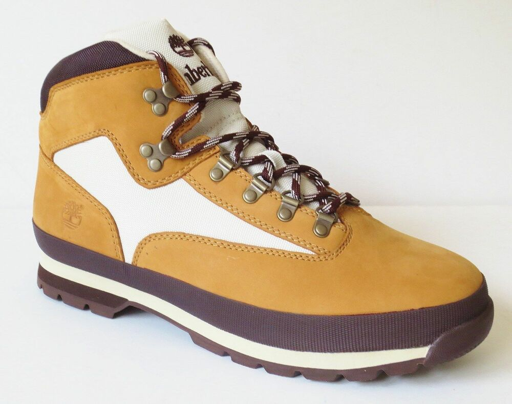 Timberland Men S Classic Leather Euro Hiker Wheat Ankle