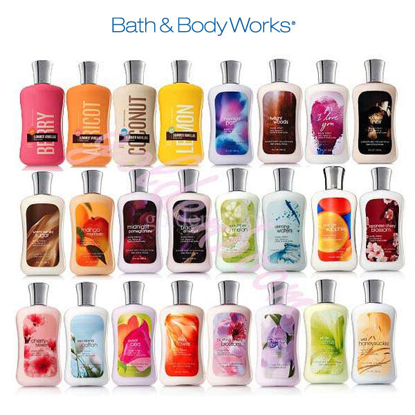 Bath and Body Works Body Lotion RARE IMPORT COLLECTION! | eBay