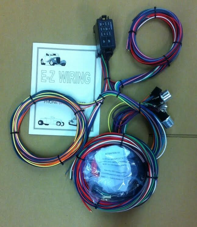 Universal 12 Circuit MINI    Street       Rod    Wiring Harness   eBay