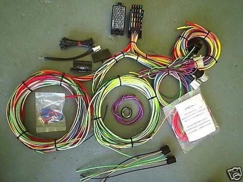 Ez wiring mini circuit hot rod harness ebay
