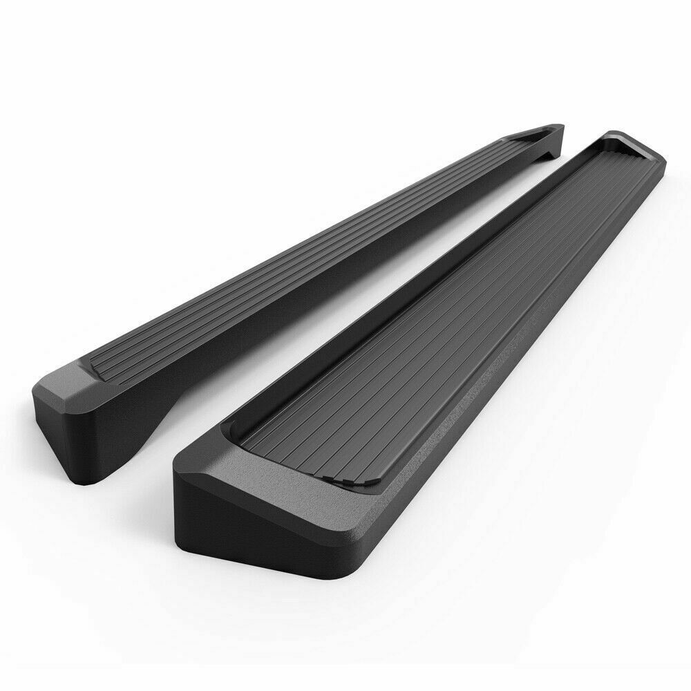 eboard running boards matte black 6 for 2009 2014 ford f. Black Bedroom Furniture Sets. Home Design Ideas