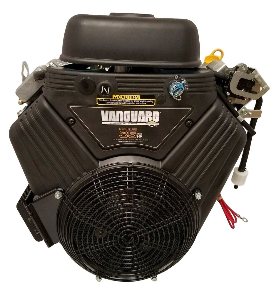 35hp briggs and stratton vanguard engine 1 1 8 x 3 for Vanguard motors for sale