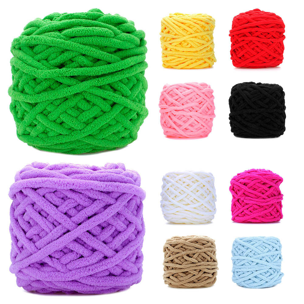 Hand Knitting Yarn Design : Colorful anti pilling hand knitted soft thick milk cotton