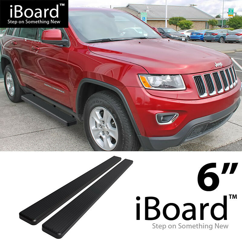 Eboard Running Boards Matte Black 6 Quot 2011 2016 Jeep Grand