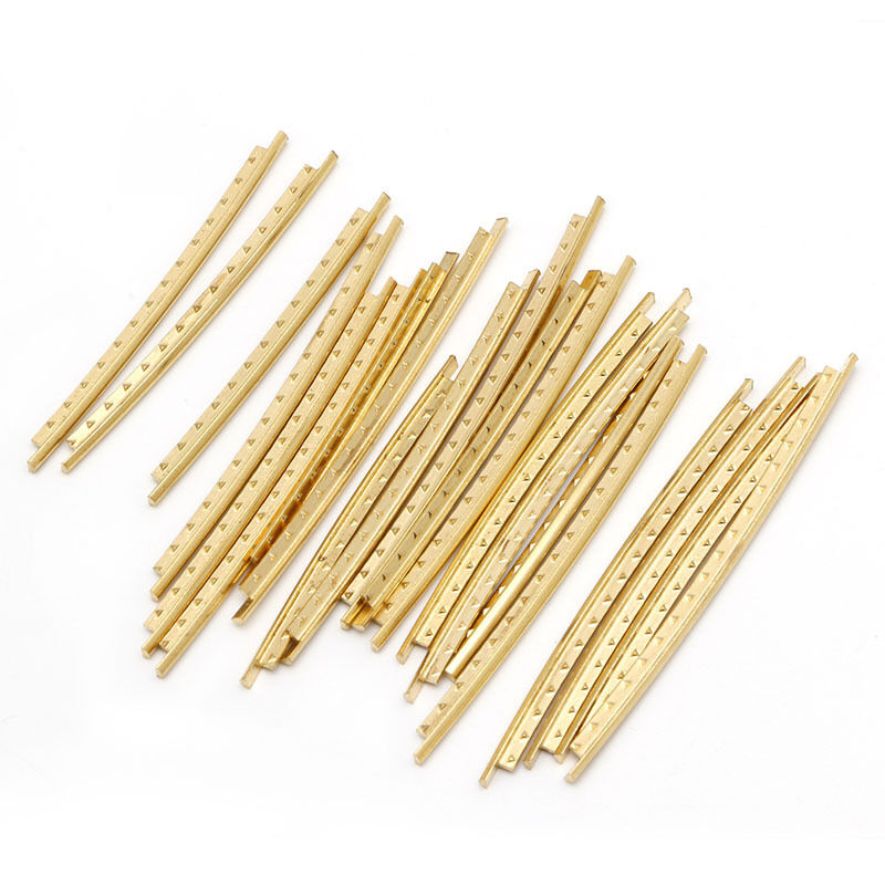 21 pcs fingerboard frets fret wire copper for acoustic guitar classical 664239259914 ebay. Black Bedroom Furniture Sets. Home Design Ideas