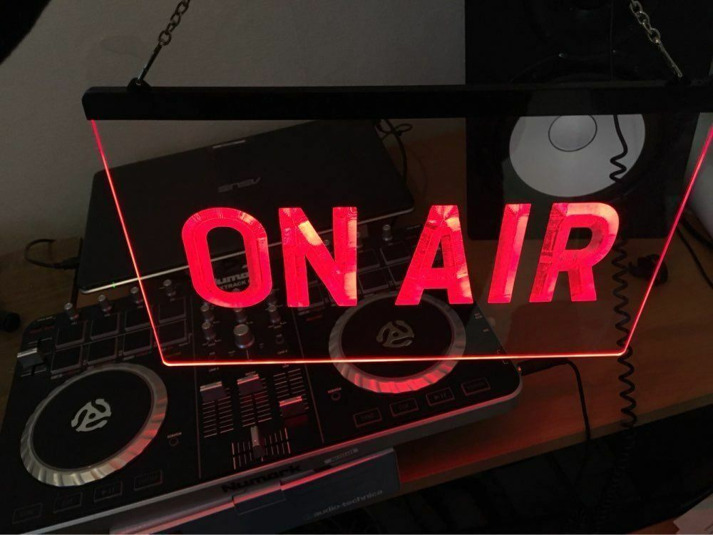On air neon sign on off recording studio led light door for Room decor neon signs