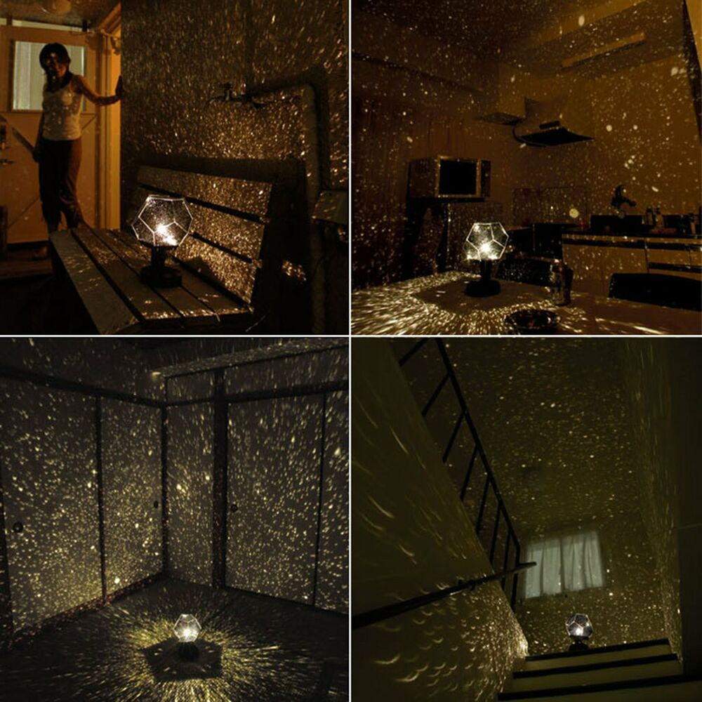 Home Ceiling Wall Star Projector Lamp Starry Night Sky