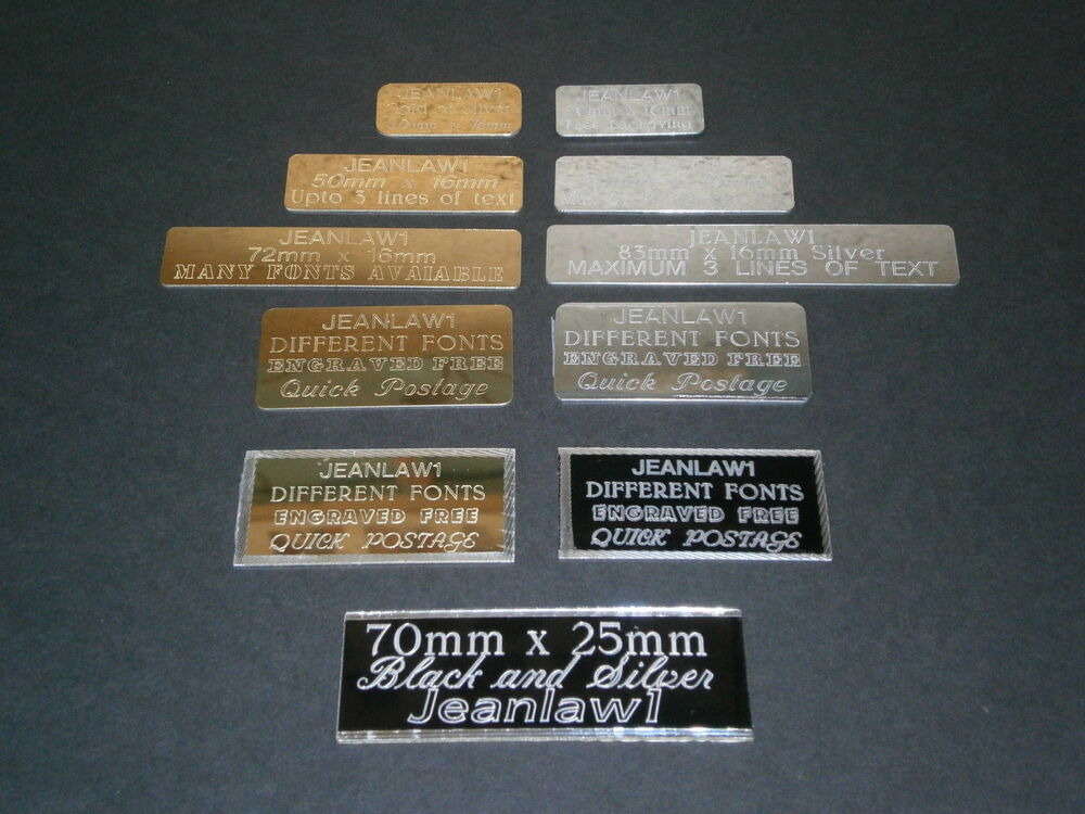 sports trophy engraved plate self adhesive gift label signs or plaque picture ebay. Black Bedroom Furniture Sets. Home Design Ideas