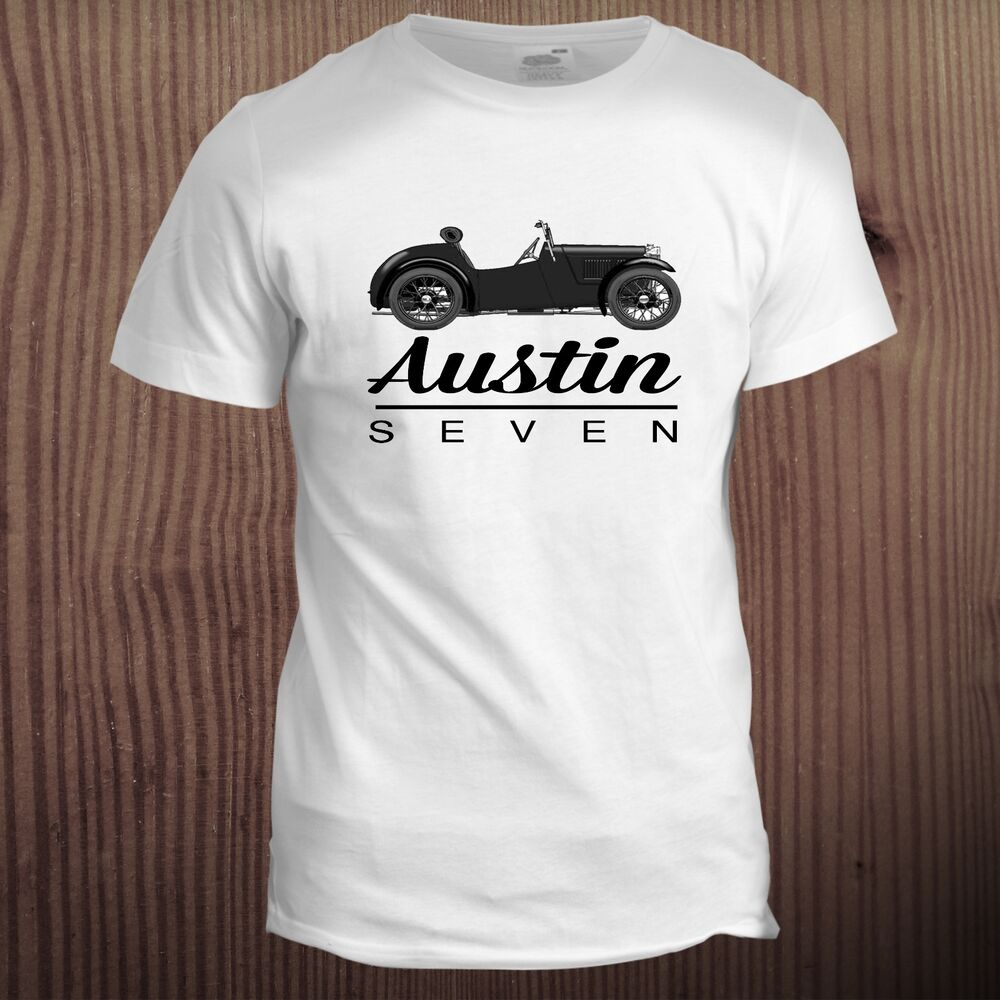 00478fc7 Details about Racing Austin 7 Seven Dad Father Car Retro Christmas Gift  Grandad Motor T Shirt