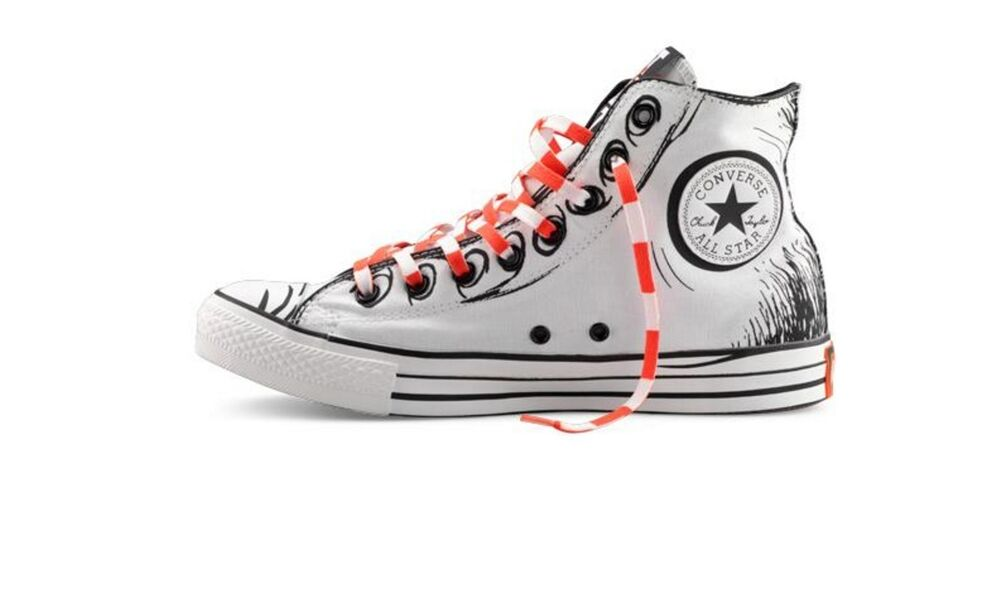 Dr Seuss Cat In The Hat Converse Shoes