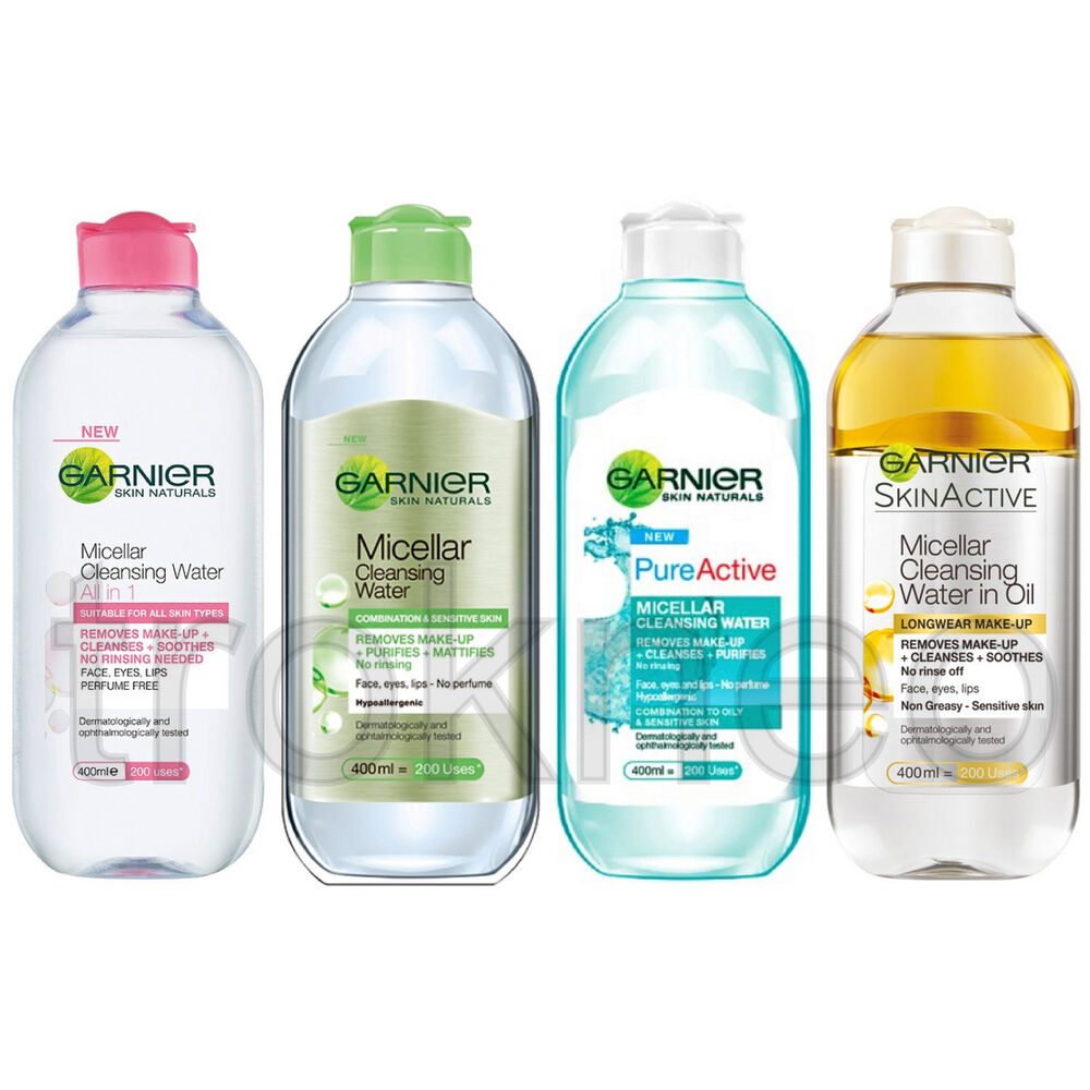 Garnier Micellar Cleansing Water On Your Choice Ebay 125ml