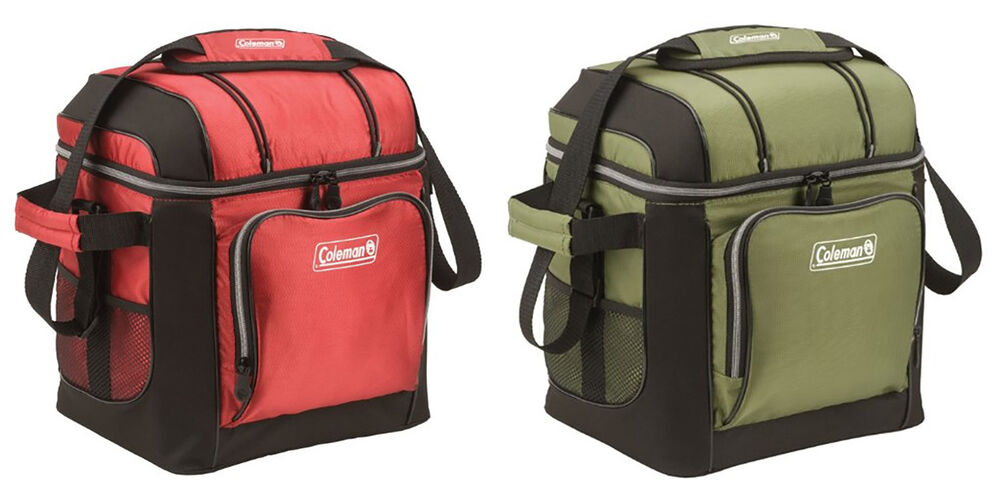 Coleman 16 Can Soft Cooler With Hard Liner ~ Coleman can soft cooler with hard liner colors ebay