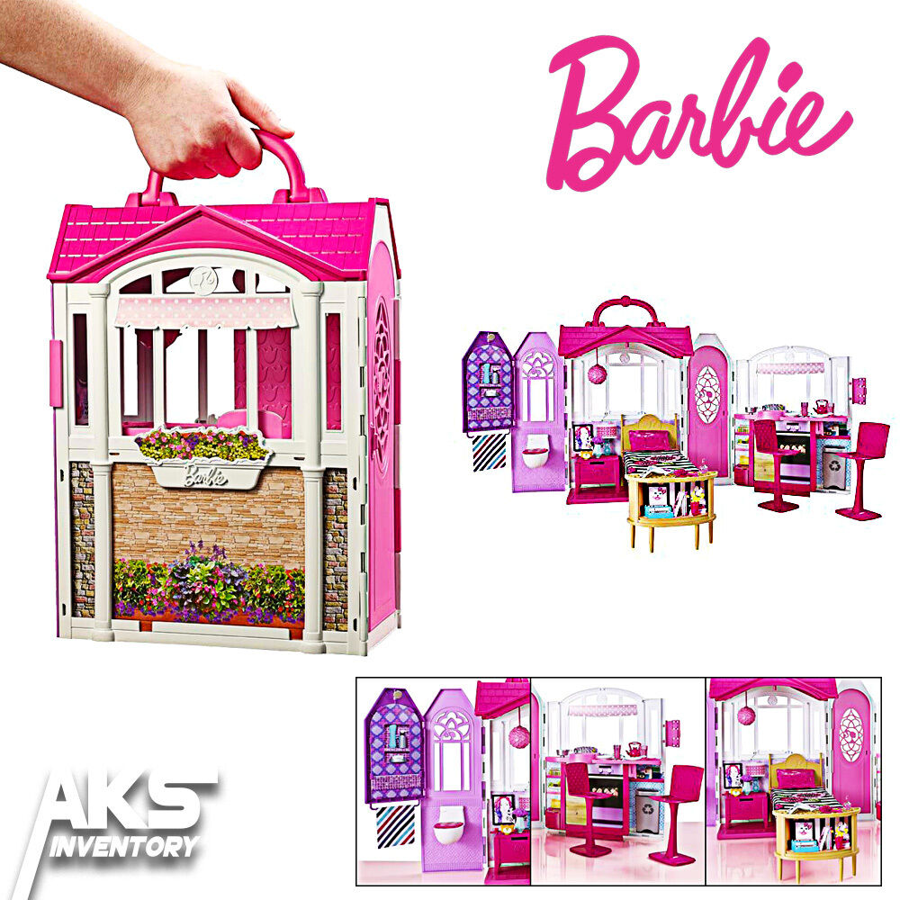 Barbie glam getaway dream house furniture girls kids toy for Dream house days furniture
