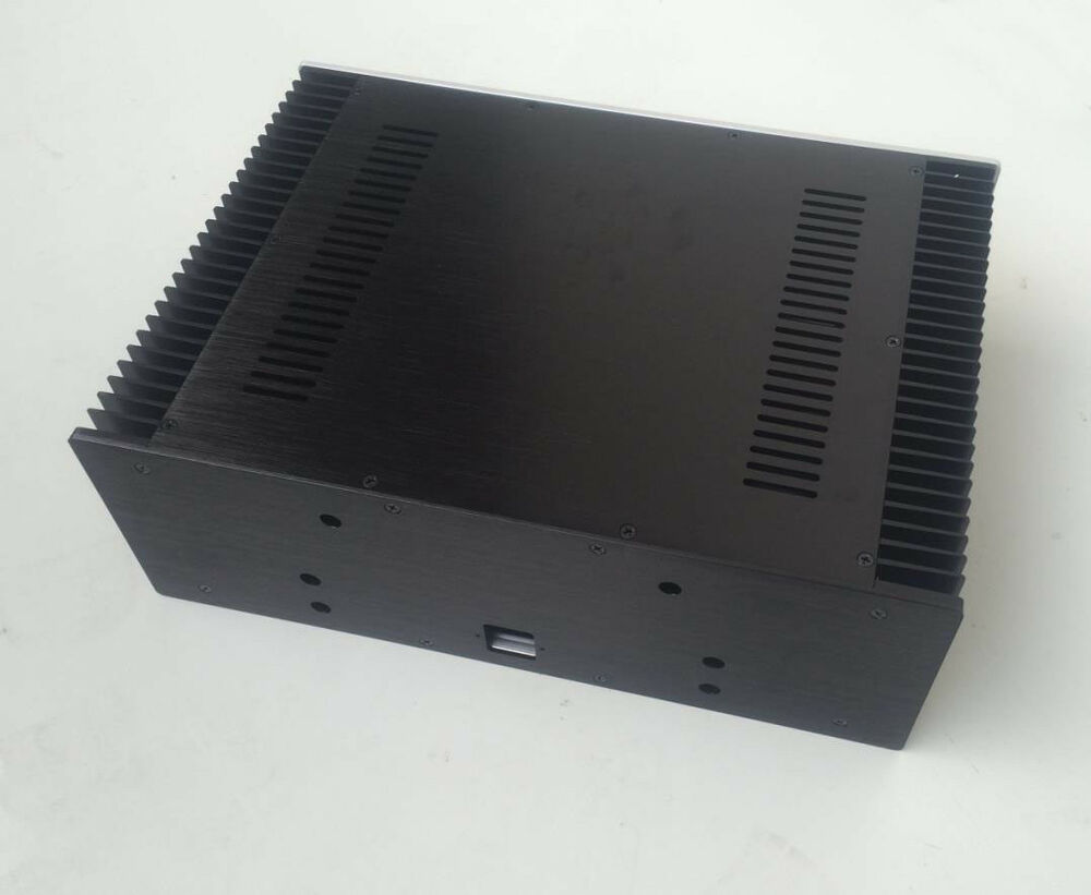 high end pass class a power amplifier chassis aluminum. Black Bedroom Furniture Sets. Home Design Ideas