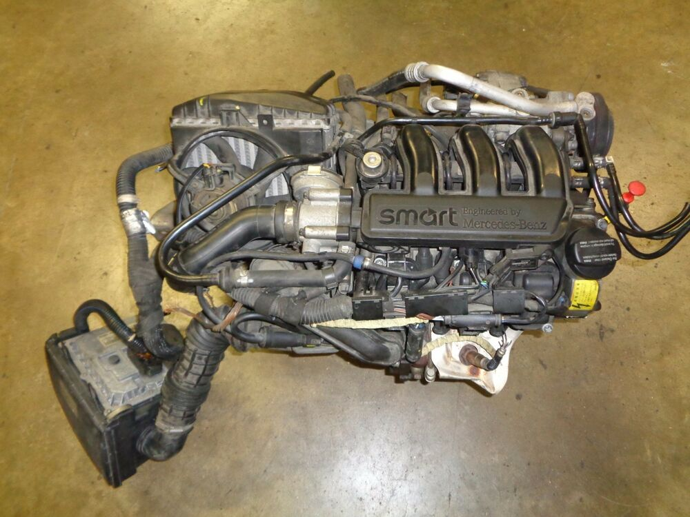 2002 2006 Smart Fortwo Turbo Engine And Transmission With