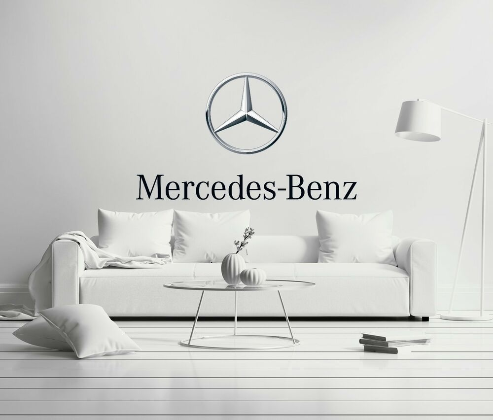 Mercedes benz cars wall decal decor for car home x large for Mercedes benz decal