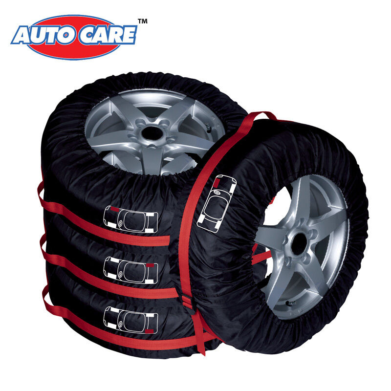4pcs car suv truck spare tire wheel tyre cover 16 22 carry tote storage bag 708311288086 ebay. Black Bedroom Furniture Sets. Home Design Ideas