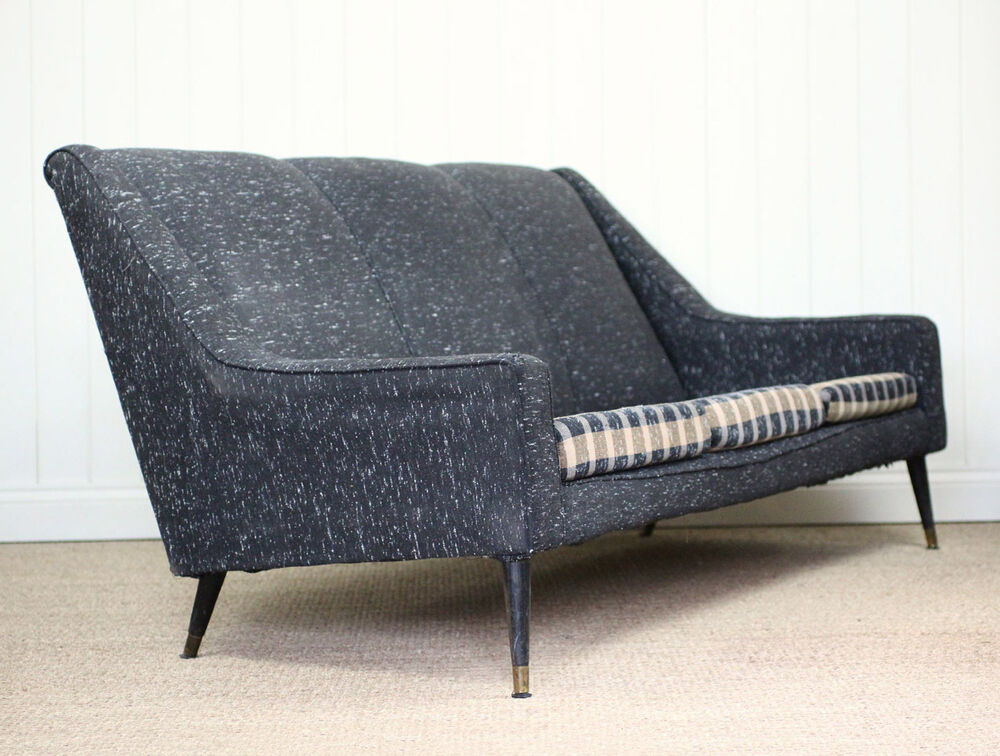 Vintage Retro Mid Century Atomic Cocktail Sofa EBay