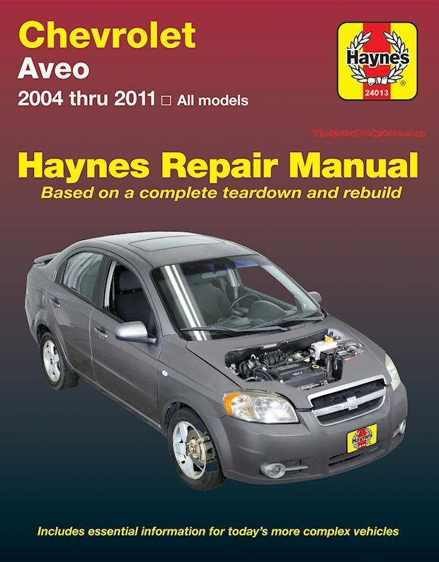 Chevrolet Aveo Repair Manual  2004