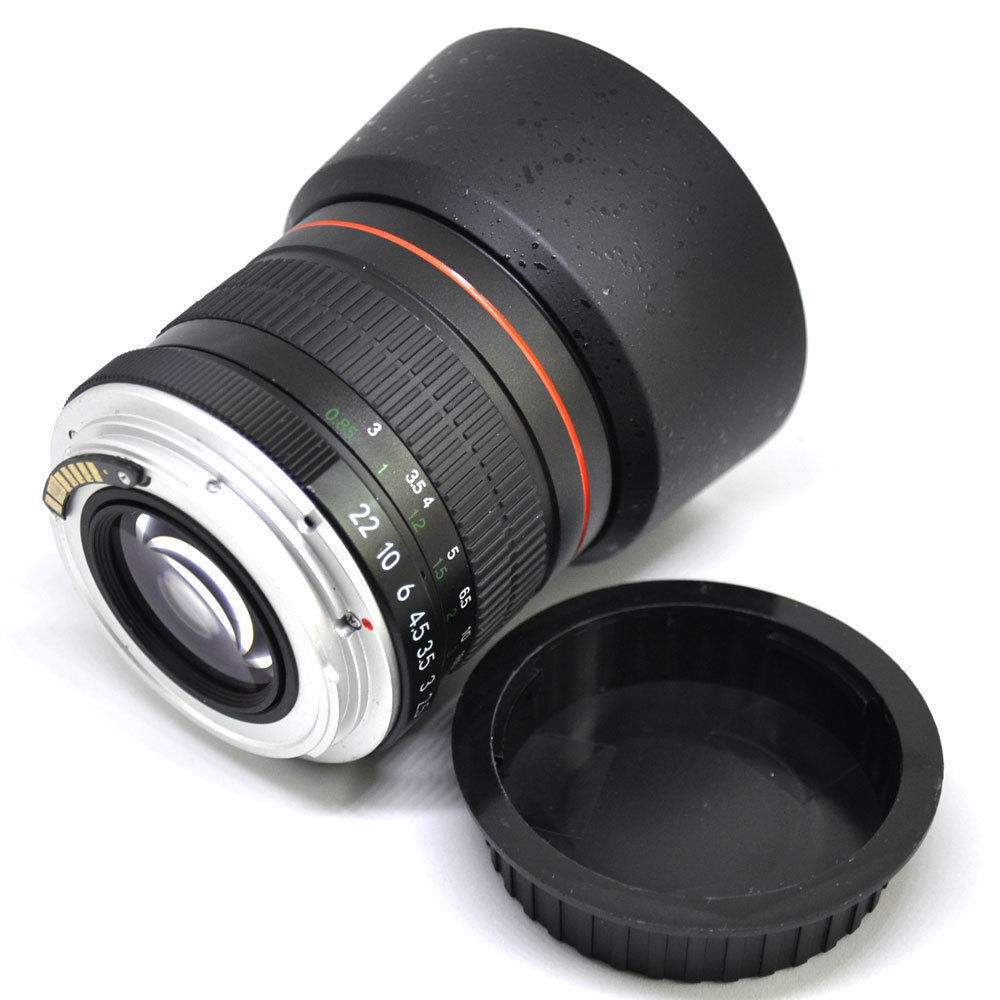 jintu af confirm 85mm f 1 8 portrait mark ii lens f canon eos 60d 550d 650d 750d ebay. Black Bedroom Furniture Sets. Home Design Ideas