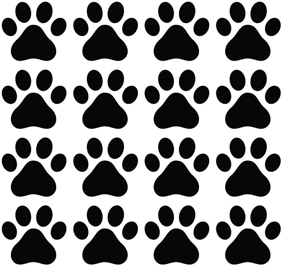 This is an image of Impertinent Paw Patrol Paw Print