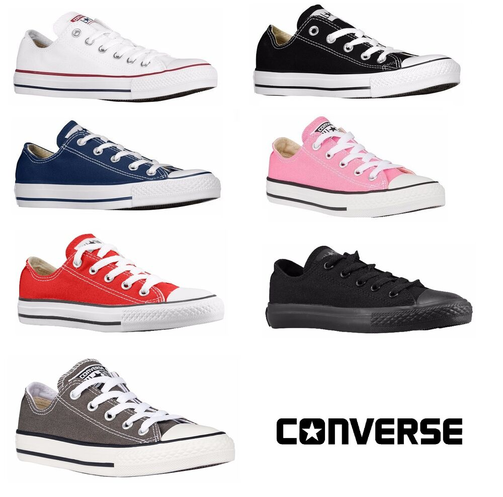 c599c709da4df5 CONVERSE CHUCK TAYLOR ALL STAR LOW TOP YOUTHS KIDS SHOES