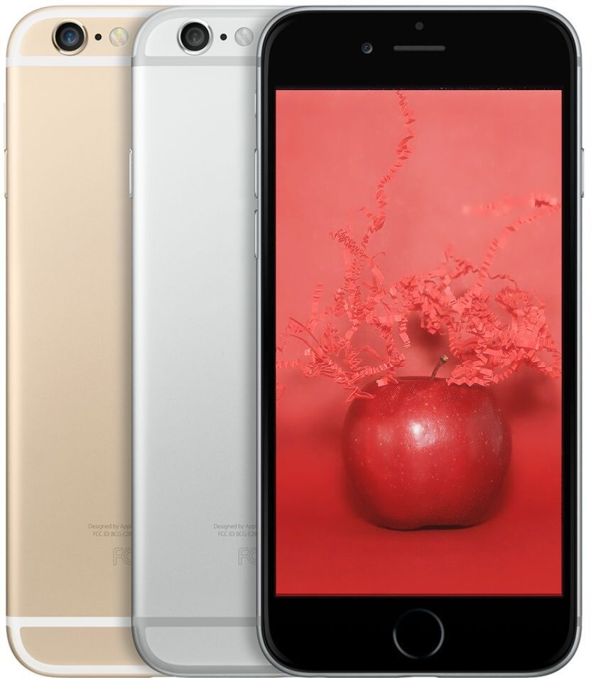 apple iphone 6 6 plus at t or t mobile 16 64 128gb gray silver gold ebay. Black Bedroom Furniture Sets. Home Design Ideas