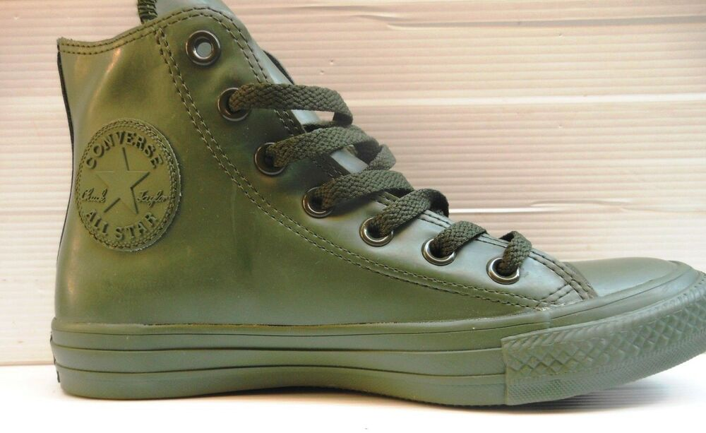 405 CONVERSE SCARPA/SHOES MAN/WOMAN ALL STAR HI RUBBER COLLARD 155156C