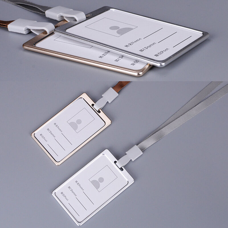 Aluminum Alloy Working Myanmar: Aluminum Alloy Business Work Card ID Badge And Adjustable