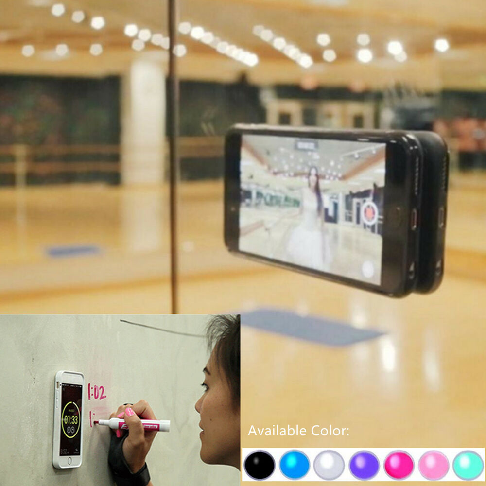 for iphone 8 7 6 plus antigravity nano suction case by aicase sticks to anything ebay. Black Bedroom Furniture Sets. Home Design Ideas