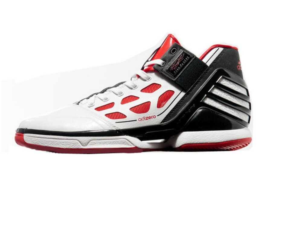 watch cbc08 200ae Details about New 13 adidas D Rose 2 Basketball Shoes Chicago Home White  Red Black G22888