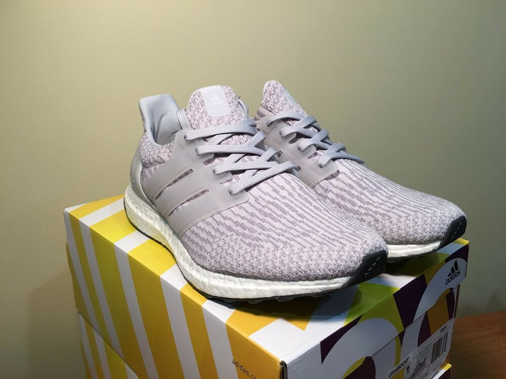 adidas ultra boost 3 0 clear grey gray bb6059 ds limited. Black Bedroom Furniture Sets. Home Design Ideas