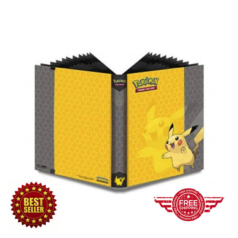 Pokemon Cards Binder Pikachu Portfolio Card Pocket Album