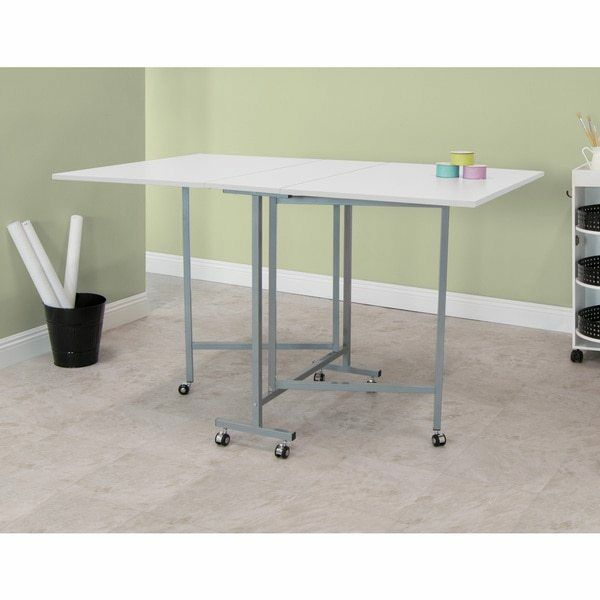 Sewing Craft Cutting Table Quilting Hobby Folding Home
